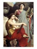 Art and Literature Art par William Adolphe Bouguereau