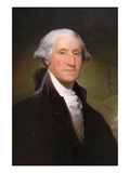 George Washington Prints by Gilbert Stewart