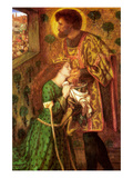 Saint George and the Princess Sabra Prints by Dante Gabriel Rossetti