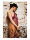 Tambourine Girl Posters por John William Godward