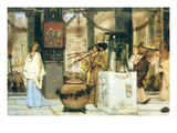 The Vintage Festival Print by Sir Lawrence Alma-Tadema