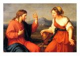 Christ and the Samaritan Woman Prints by Angelica Kaufmann