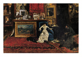 Tenth Street Studio Premium Giclee Print by William Merritt Chase