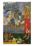 La Orana Maria (Hail Mary) Posters by Paul Gauguin