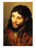 Christ by Rembrandt Posters van Rembrandt van Rijn