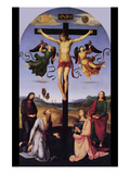 Christ on the Cross Print by  Raphael