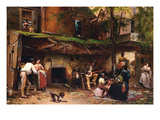 Old Kentucky Home, African American Life in the South Láminas por Eastman Johnson