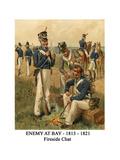 Enemy at Bay - 1813 - 1821 - Fireside Chat Prints by Henry Alexander Ogden