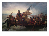 Washington Crossing the Delaware Affiches par Emanuel Gottlieb Leutze
