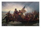 Washington Crossing the Delaware Kunstdrucke von Emanuel Gottlieb Leutze