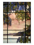 View of Oyster Bay Premium Giclee Print by Louis Comfort Tiffany
