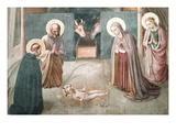 Birth of Christ Print by  Fra Angelico