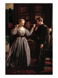The Consecration Print by George Cochran Lambdin