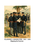 Planning a Maneuver - 1841 - 1850 - Mapping the Exercise Prints by Henry Alexander Ogden