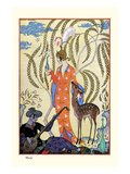 Persia Prints by George Barbier