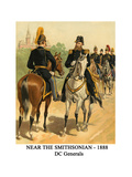 Near the Smithsonian - 1888 - Dc Generals Posters by Henry Alexander Ogden