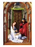 Birth of Christ Prints by Rogier van der Weyden
