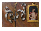 Man of Sorrows Premium Giclee Print by Bernard van Orley