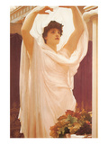 Invocation Posters by Frederick Leighton