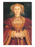 Anne of Cleves Affiches par Hans Holbein the Younger