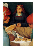 Wedding Banquet - Detail Prints by Pieter Breughel the Elder