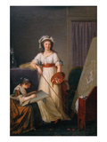 Atelier of a Painter, Probably Madame Vigée Le Brun (1755–1842), and Her Pupil Posters by Marie-Victoire Lemoine