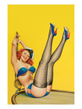 Flirt Magazine; Sailor Girl Posters by Peter Driben