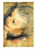 Study for the Head of Jesus Christ Prints by Federico Barocci
