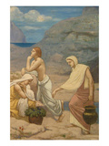 The Shepherd's Song Prints by Pierre Puvis de Chavannes