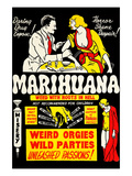 Marihuana: Weed with Roots in Hell Prints