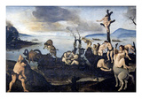 Return from the Hunt Prints by Piero di Cosimo