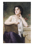 Inspiration Print by William Adolphe Bouguereau