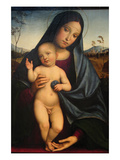Madonna and Child Print by Francesco Francia
