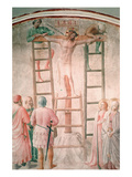 Christ Being Nailed to the Cross by Angelico Prints by Fra Angelico