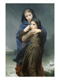 The Storm Poster by William Adolphe Bouguereau