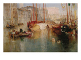 The Grand Canal in Venice Premium Giclee Print by J. M. W. Turner
