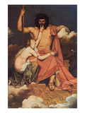 Jupiter and Thetis Posters by Jean-Auguste-Dominique Ingres