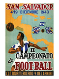 Il Campeonato De Foot-Ball Poster by  Artes Graficas