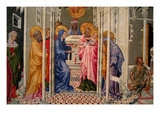 The Presentation of Christ in the Temple, Predella Panel, Ca. 1440 Prints by Giovanni Paolo Panini