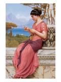 The Billet Doux Prints by John William Godward