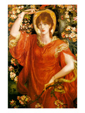 A Vision of Fiametta Prints by Dante Gabriel Rossetti