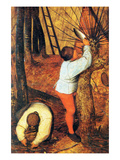 Beginning of Spring - Detail Posters by Pieter Breughel the Elder