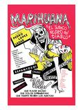 The Marihuana Story Print
