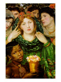The Beloved Premium Giclee Print by Dante Gabriel Rossetti