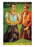"""Disabled Fighter, Take My Post"" Prints by  National League of Disabled Workers"
