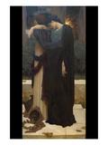 Lachrymae (Mary Lloyd) Kunstdrucke von Frederick Leighton