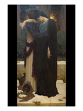 Lachrymae (Mary Lloyd) Poster von Frederick Leighton