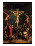 Crucifixion of Christ by Francken Poster by  Francken