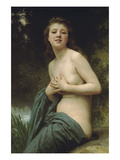 Spring Breeze Posters by William Adolphe Bouguereau