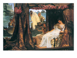 Antony and Cleopatra Poster by Sir Lawrence Alma-Tadema